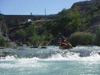 En ruta con los kayaks