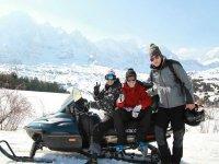 Ruta en moto de nieve por Huesca, 1 hora