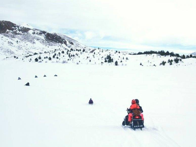 excursiones por la nieve