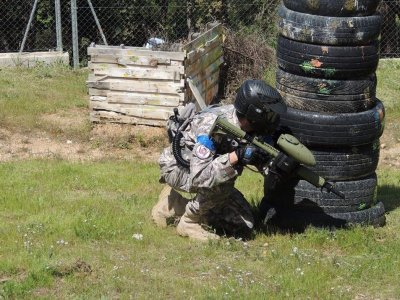 Paintball with 300 Paintballs in Borges del Camp