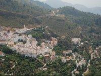 vista aerea de valle de lecrin