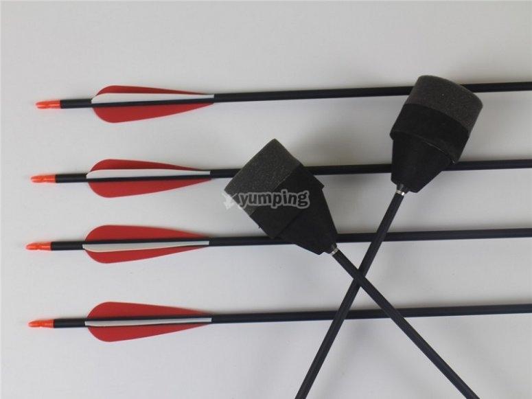 Flechas de archery tag