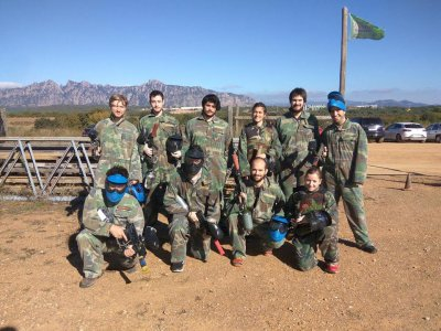 Paintball 100 bolas y Archery Tag 1h en Barcelona
