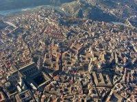 Toledo desde el cielo