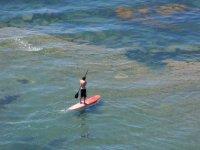 Paddle surf individual