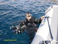Fine dell'immersione