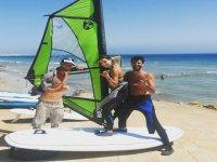 Clse de windsurf semi privada