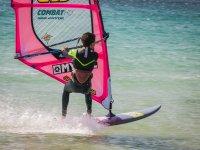 Clase avanzada de windsurf