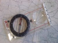 自古地图和指南针定向使用用于