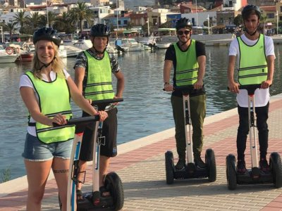 Excursion en segway en el Castillo Denia 90 min