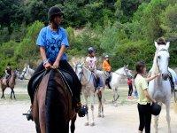 Equitación en la naturaleza