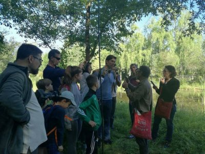 Bird ringing workshop in Guadiamar 4h