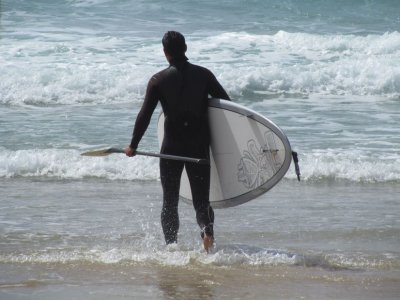 Paddle surf equipment rental Las Galletas 1h