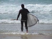 Alquiler de paddle surf en Las Galletas 1 hora