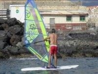 Alquiler equipo de windsurf en Las Galletas 1 hora