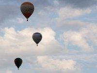 globos en el aire
