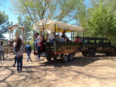 Ruta Rociera in 4x4 e carriola a El Quema