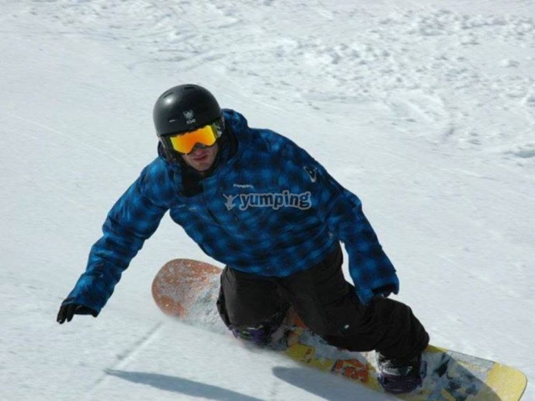 Profesional del snow