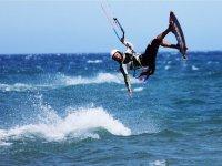 Acrobacias profesionales de wake