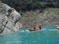 Kayak guiado para familias