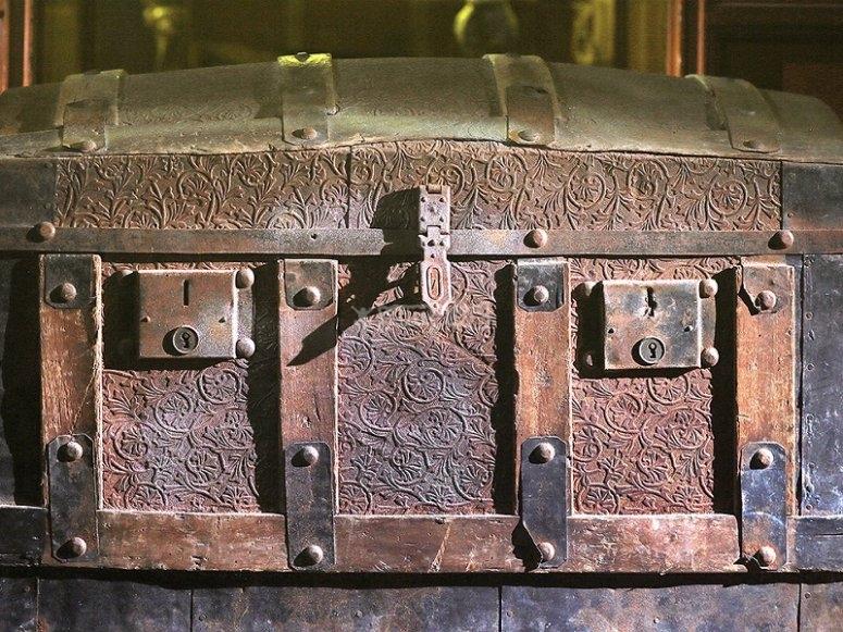 Cofre del tesoro azteca