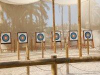 Seis galerias de tiro con arco
