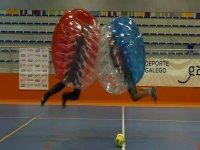 Partido de fútbol burbuja en A Coruña 3 horas