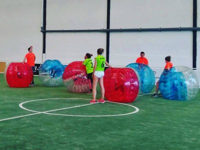 Bubble football for schools at A Coruña, 2h