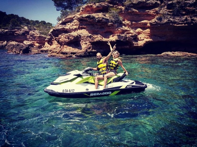 Jet ski route for two