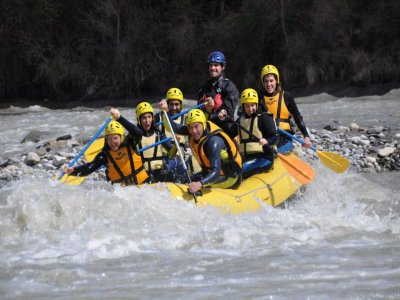 Giornata di rafting in Besians 5 ore