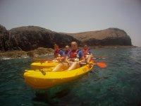 disfruta de las rutas en Lanzarote