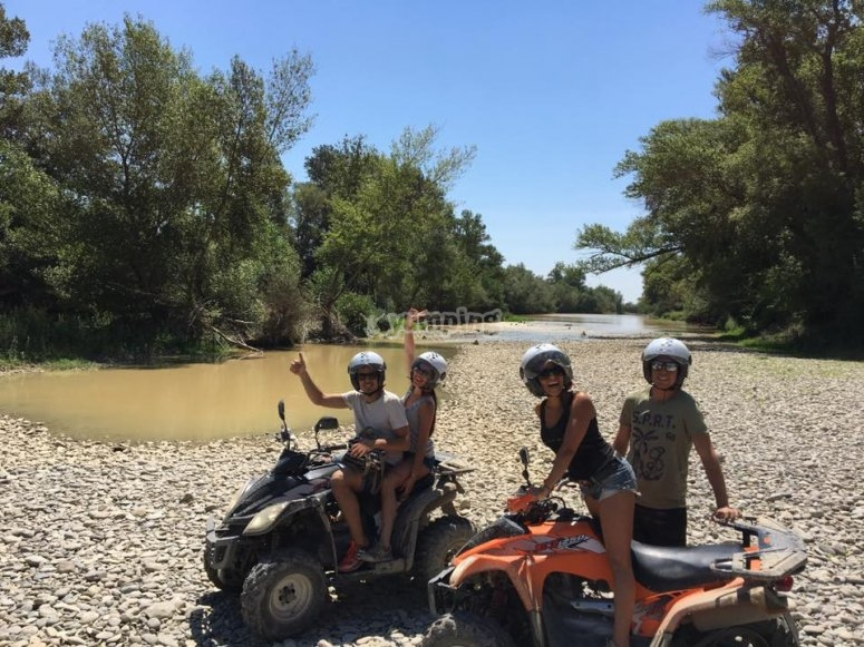 disfruta en quad