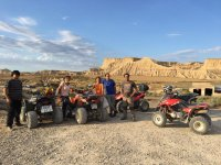 Two-seater quad route at Bardenas Reales, 4h