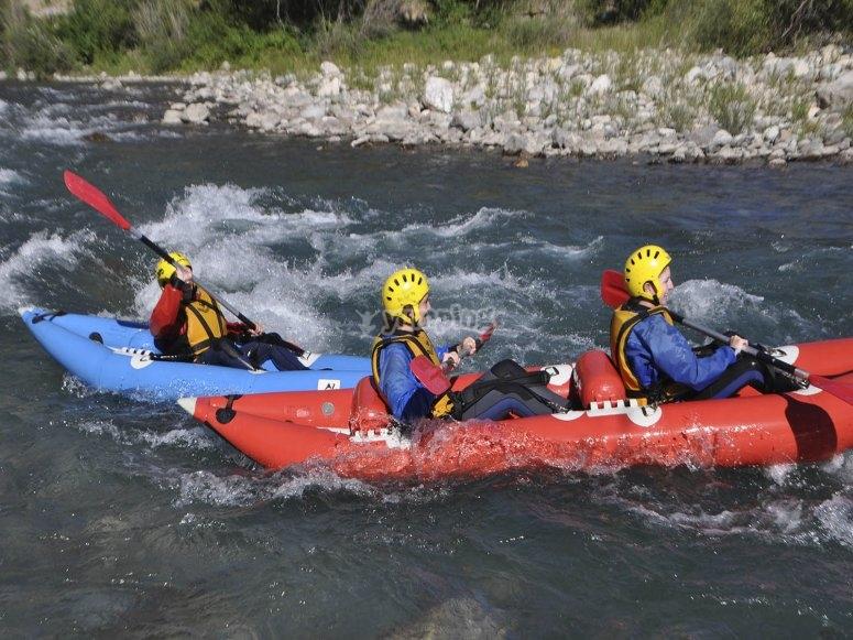 Descend the river
