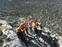 El grupo en la cima