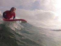Surfing en Las Canteras