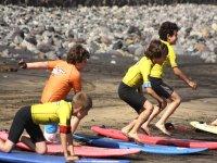 Clases de surf para ninos