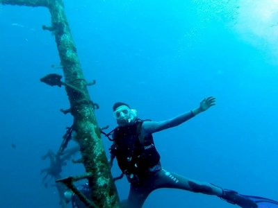 4 diving sessions for titled ones in Tenerife