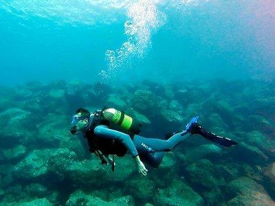 Curso buceo Open Water RAID en Las Caletillas