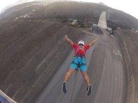 Salto con postura de superman