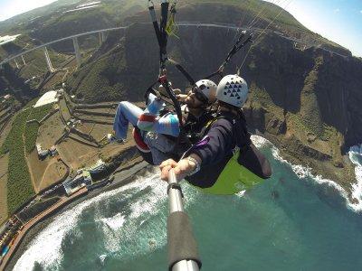 Aventura en Canarias Parapente