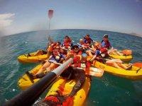 kayak di gruppo