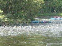 Descenso del rio en canoa