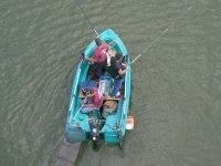Pescadores en barca