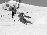 Clases de esquí en la sierra madrileña, 5 horas