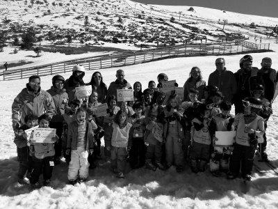 Escuela de iniciación de esquí menores de 7 años