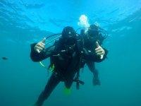 Diviertete bajo el agua
