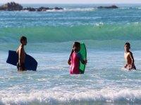 primer contacto con el surf