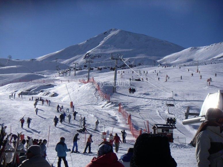 esqui resort