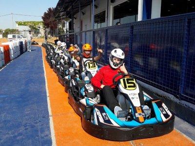 Gara di kart a Quintanar del Rey 20 giri